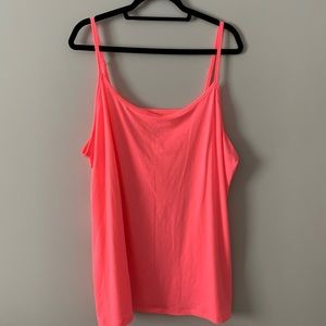 Size 5X Torrid Foxy Cami - Neon pink